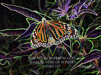 Luke 1:37 Desktop Wallpaper